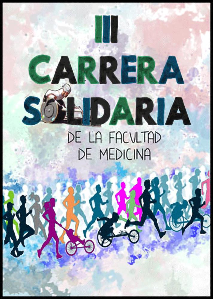 Cartel publicitario que ganó el concurso para la III Carrera Solidaria de la facultad de medicina UMH.